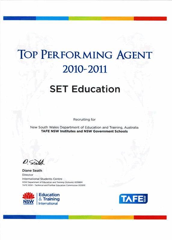 Top performance TAFE NSW small